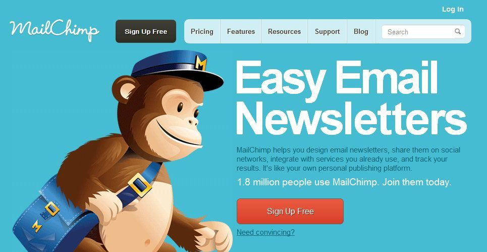 MailChimp. Aprende a crear una campaña de E-Mailing