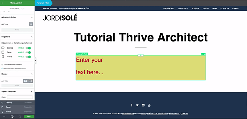 Visualizar-Thrive-Architect