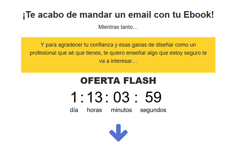 crear un infoproducto oferta flash