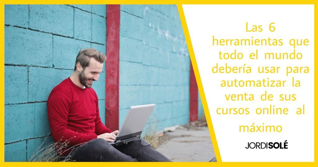herramientas para automatizar venta de cursos online
