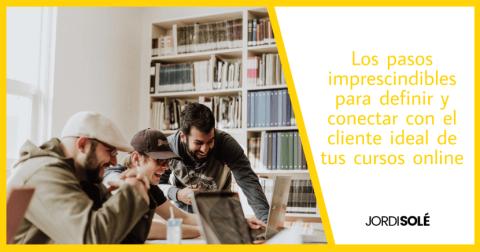 definir cliente ideal cursos online